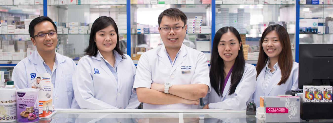 Multicare Pharmacy Website Design