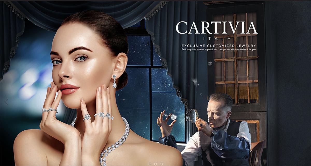 Website Design - Cartivia Italy
