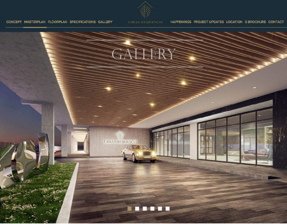 Urban Residences Web Design