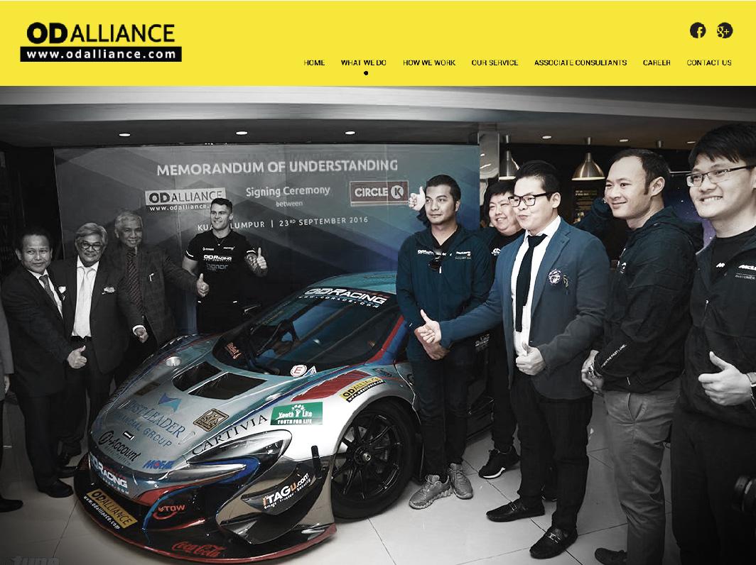 OD Alliance Website Design