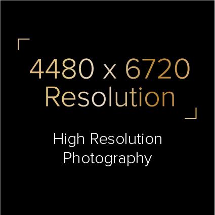 High Resolution Photography