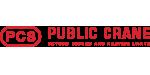 Public Crane Logo Design