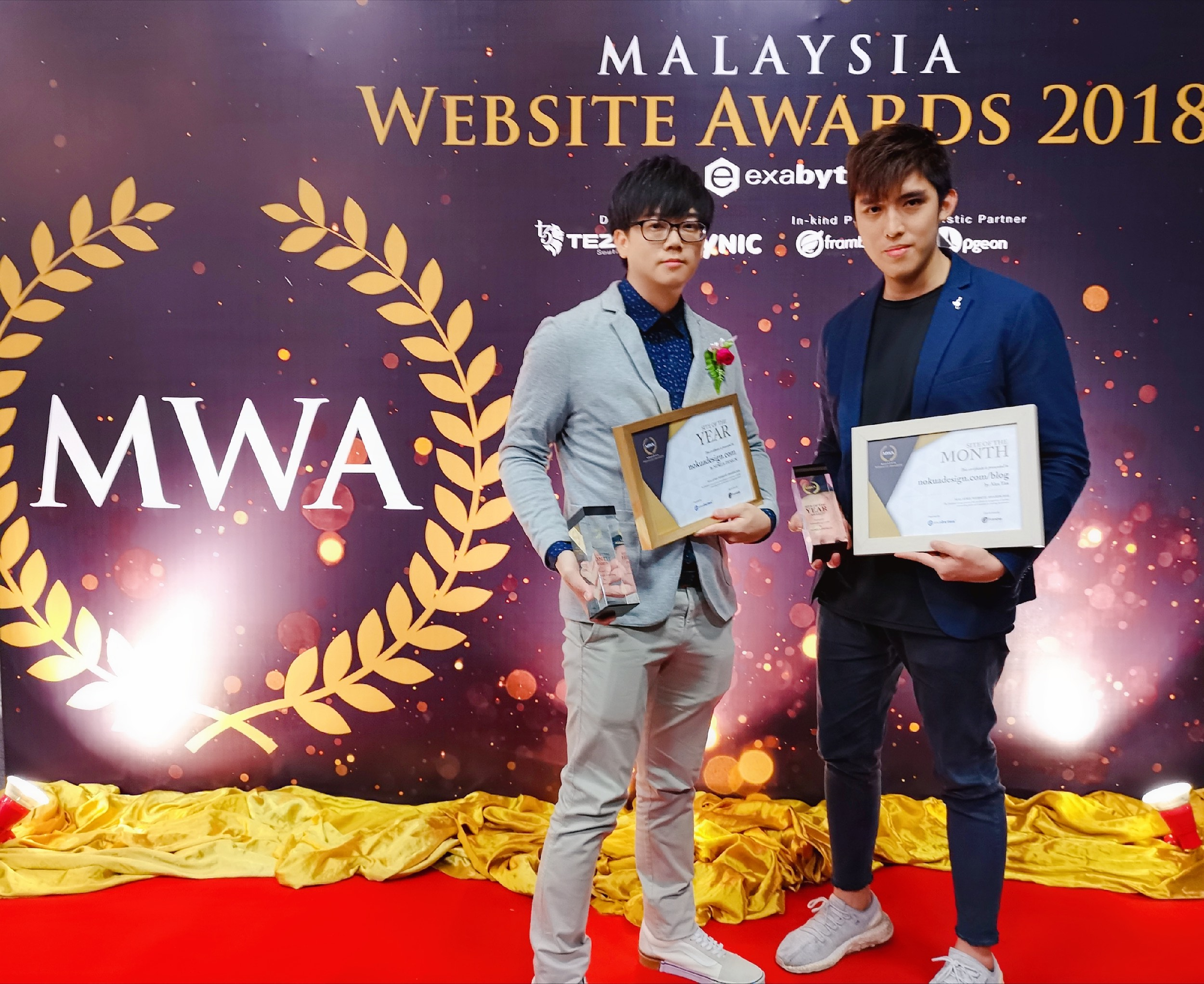 NOKUA | Malaysia Website Awards Winner 2018