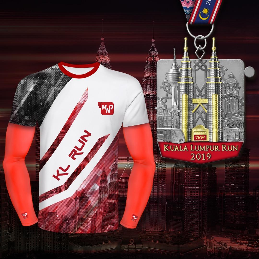 moveon kl run shirt&medal