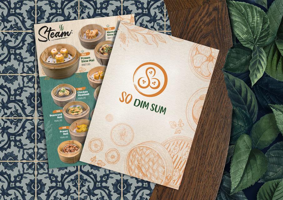 Menu Design | So Dim Sum
