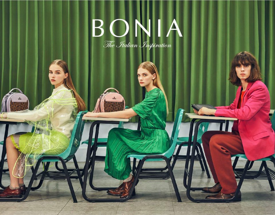 Bonia celebrating 45 years campaign by NOKUA