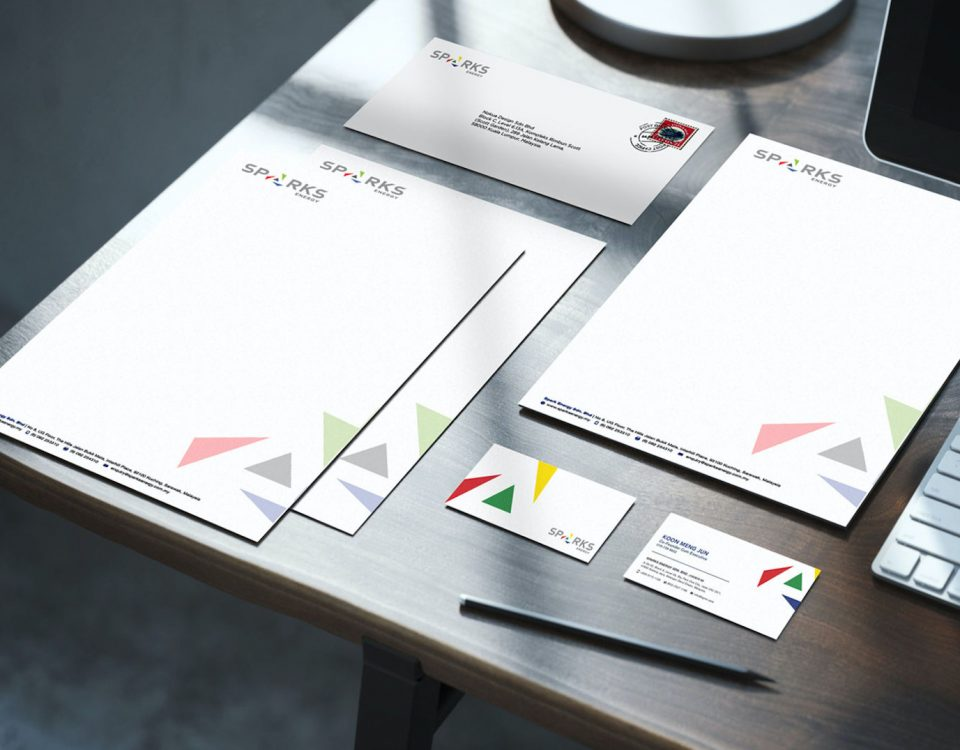 Sparks Energy | Branding & Corporate Identity Design by Nokua Design