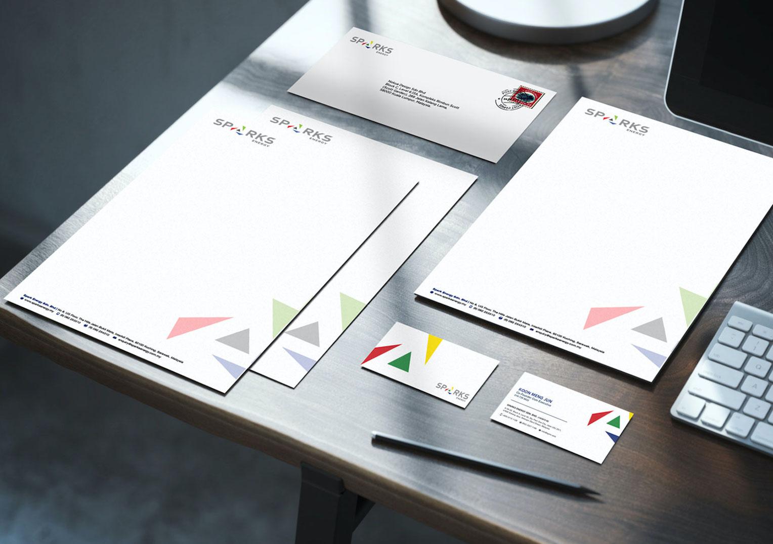 Sparks Energy | Branding & Corporate Identity Design by Nokua Design